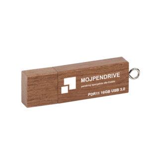 Drewniany pendrive z grawerem PDR11 16 GB USB 3.0