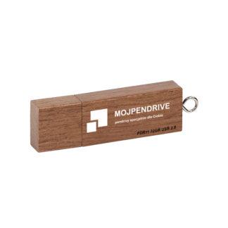 Drewniany pendrive z grawerem PDR11 32 GB USB 2.0