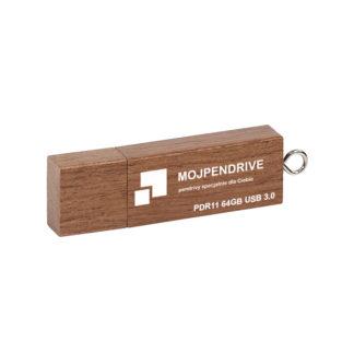 Drewniany pendrive z grawerem PDR11 64 GB USB 3.0